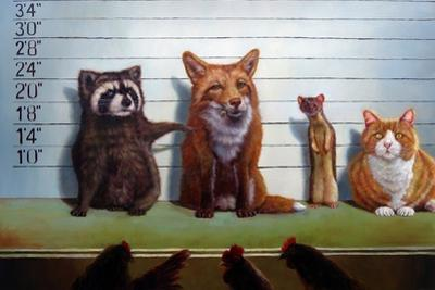 Usual Suspects by Lucia Heffernan