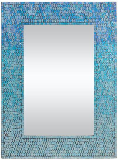 Lucia Ombre Mosaic Mirror--Wall Mirror