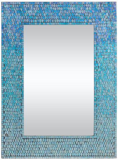 Lucia Ombre Mosaic Mirror--Wall Mirror