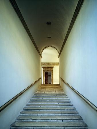 Glimpse of Monumental Staircase of Honor, 1466-1472