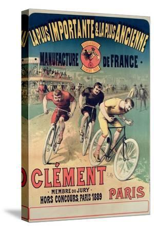 Poster Advertising the Cycles 'Clement', 1891