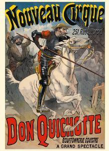 Don Quixote (Don Quichotte) - New Circus (Nouveau Cirque) - Great Horse Show by Lucien Lef?vre