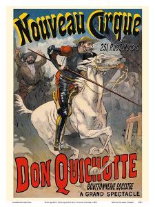 Don Quixote (Don Quichotte) - New Circus (Nouveau Cirque) - Great Horse Show by Lucien Lefèvre