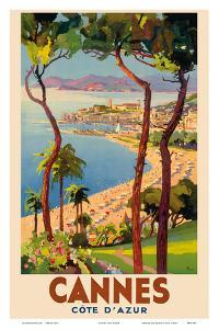 Cannes - Côte d'Azur, France - French Riviera by Lucien Peri