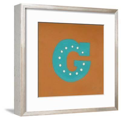 Lucien's G 6-Up-Chariklia Zarris-Framed Art Print