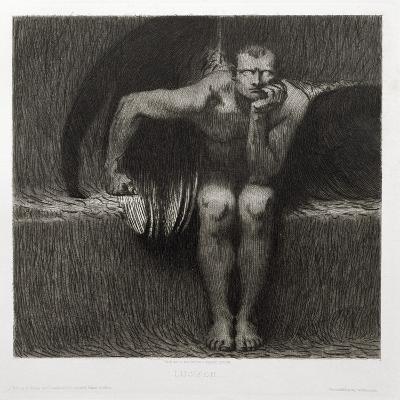 Lucifer, 1892-Franz von Stuck-Giclee Print