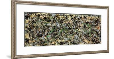 Lucifer-Jackson Pollock-Framed Art Print