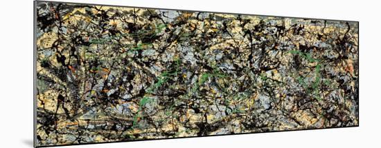 Lucifer-Jackson Pollock-Mounted Art Print