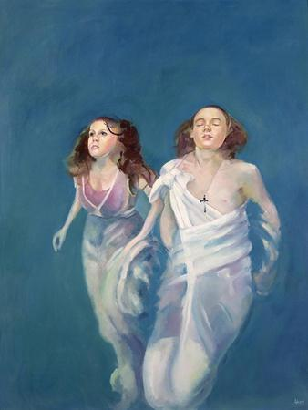 A Boy and Girl Floating, 2004