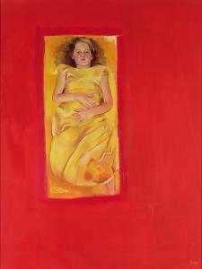 Girl in Bed, 2004 by Lucinda Arundell