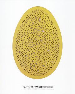 Spacial Concept, The End of God by Lucio Fontana