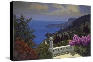 A View across to Monaco by Lucio Sollazzi