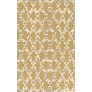 Lucka Area Rug - Gold/Ivory 8' x 10'