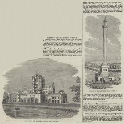 Lucknow, the Martinere College--Giclee Print