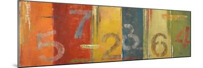 Lucky Numbers I-Patricia Pinto-Mounted Print