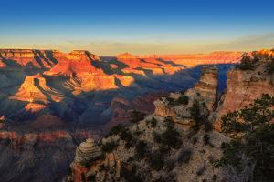 Grand Canyon at Sunset, Arizona by lucky-photographer
