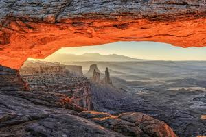 Mesa Arch in Canyonlands. by lucky-photographer