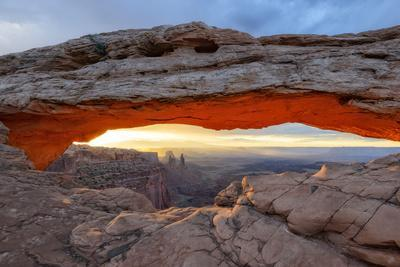Mesa Arch in Canyonlands.
