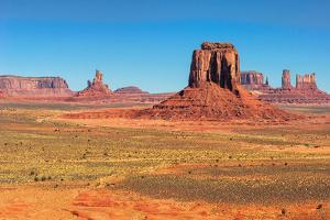 Monument Valley West and East Mittens Butte Utah National Park by lucky-photographer