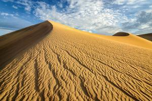Sand Dunes, Desert in Death Valley. by lucky-photographer