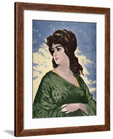 Lucretia (D.510 BC)--Framed Giclee Print