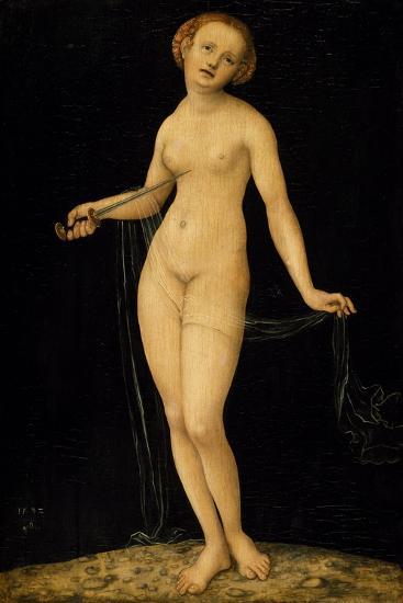 Lucretia-Lucas Cranach the Elder-Giclee Print