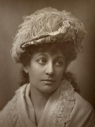 Lucy Buckstone, British Actress, 1884--Photographic Print