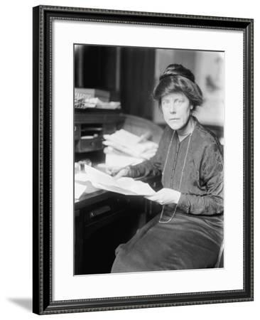 Lucy Burns, 1913-Harris & Ewing-Framed Photographic Print
