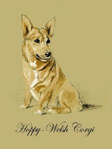 Hoppy The Welsh Corgi by Lucy Dawson