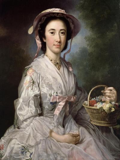 Lucy Ebberton, C.1745-50-George Knapton-Giclee Print