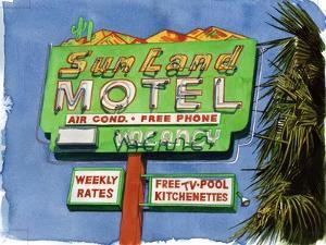 The Sun Land, Miracle Mile, 2004 by Lucy Masterman