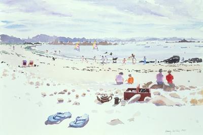 Cobo Bay, Guernsey, 1987