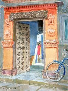 In the Old Town, Bhuj, 2003 by Lucy Willis