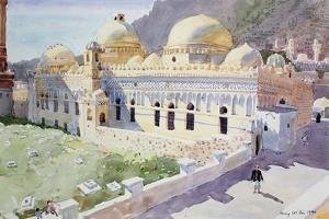 Mosque, Taiz, Yemen, 1990 by Lucy Willis