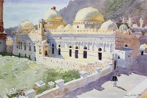 Mosque, Taiz, Yemen, 1990 by Lucy Willis