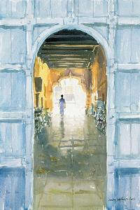 Walking Towards the Light, Cochin, 2002 by Lucy Willis