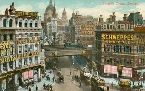 Ludgate Circus, London, England