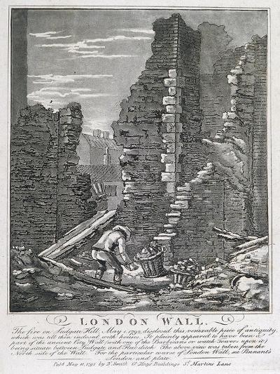 Ludgate Hill, London, 1792-John Thomas Smith-Giclee Print