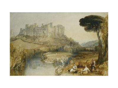 Ludlow Castle-J^ M^ W^ Turner-Giclee Print