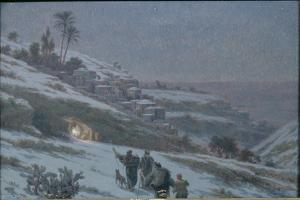 Christmas Night at Bethlehem, 1893 by Ludovic Alleaume