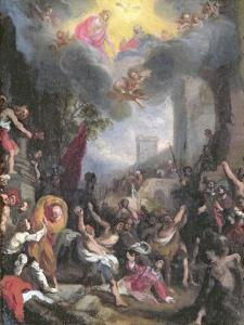 Martyrdom of St. Stephen, 1527 by Ludovico Cardi Cigoli