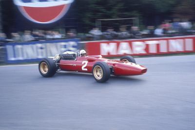 Ludovico Scarfiotti Driving a Ferrari, Belgian Gp, Spa-Francorchamps, 1967