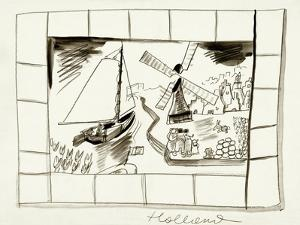 House & Garden - January, 1939 by Ludwig Bemelmans