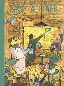 The New Yorker Cover - April 1, 1950 by Ludwig Bemelmans