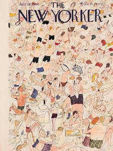 The New Yorker Cover - July 13, 1946 by Ludwig Bemelmans