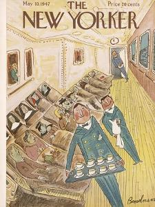 The New Yorker Cover - May 10, 1947 by Ludwig Bemelmans
