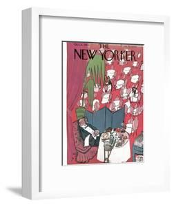 The New Yorker Cover - October 16, 1943 by Ludwig Bemelmans