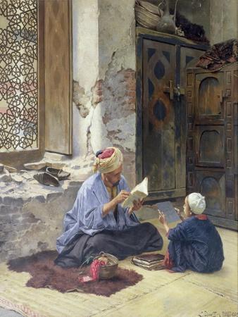 An Arab Schoolmaster, 1889