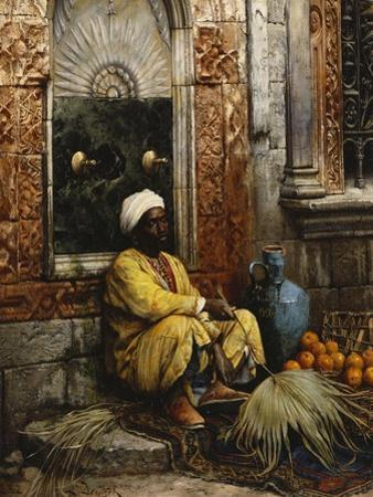 The Orange Seller by Ludwig Deutsch