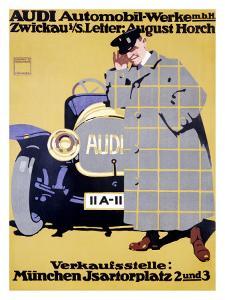 Audi by Ludwig Hohlwein